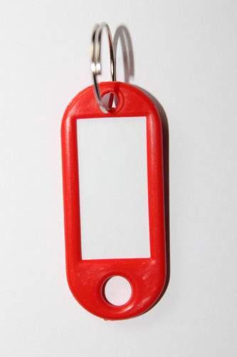 27. Kľúčenka s príveskom - červená