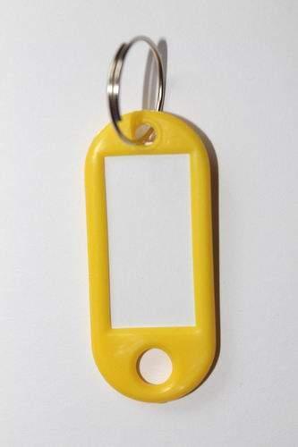 28. Kľúčenka s príveskom - žltá