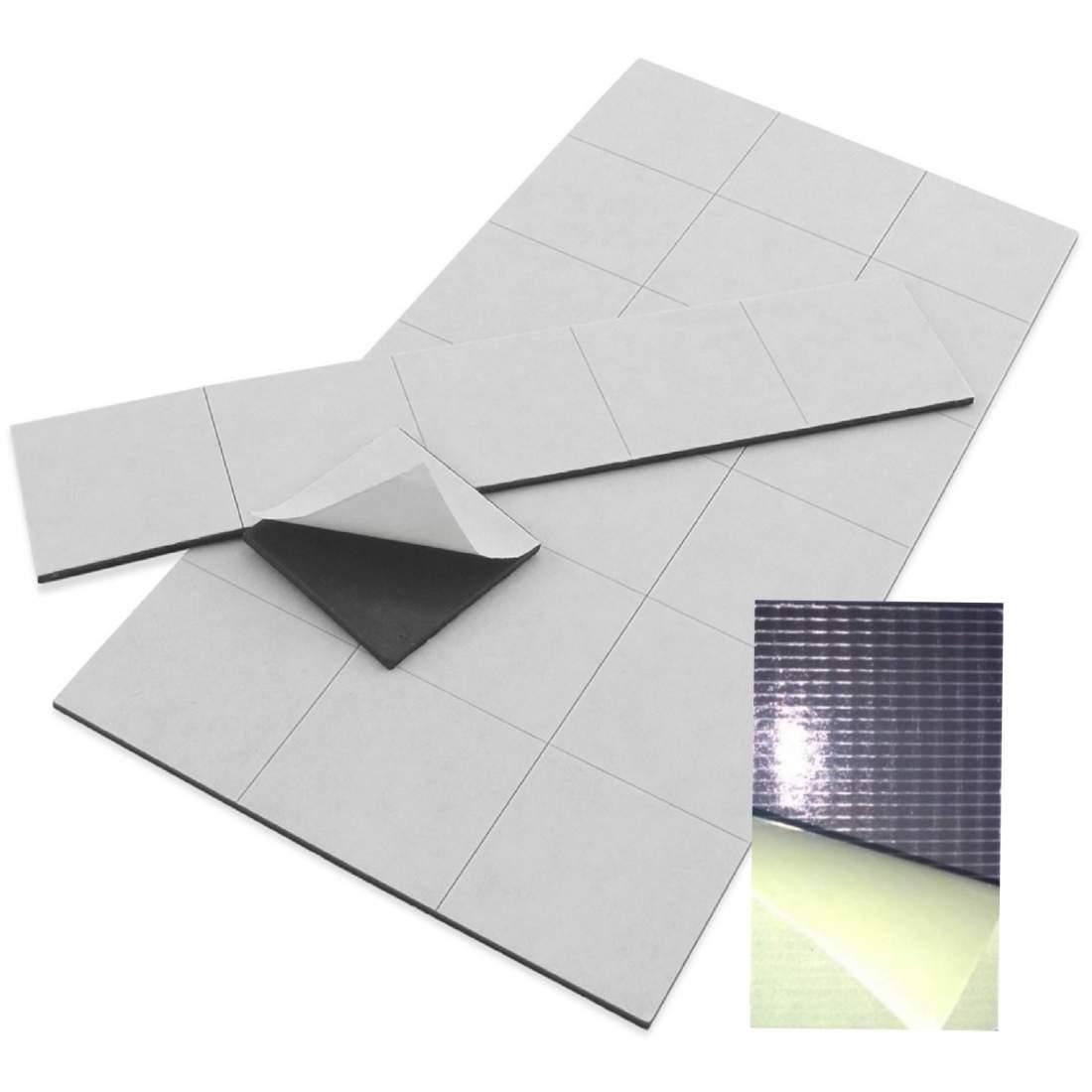 42. Samolepiaca magnetická fólia (rezaná) - 50x30mm