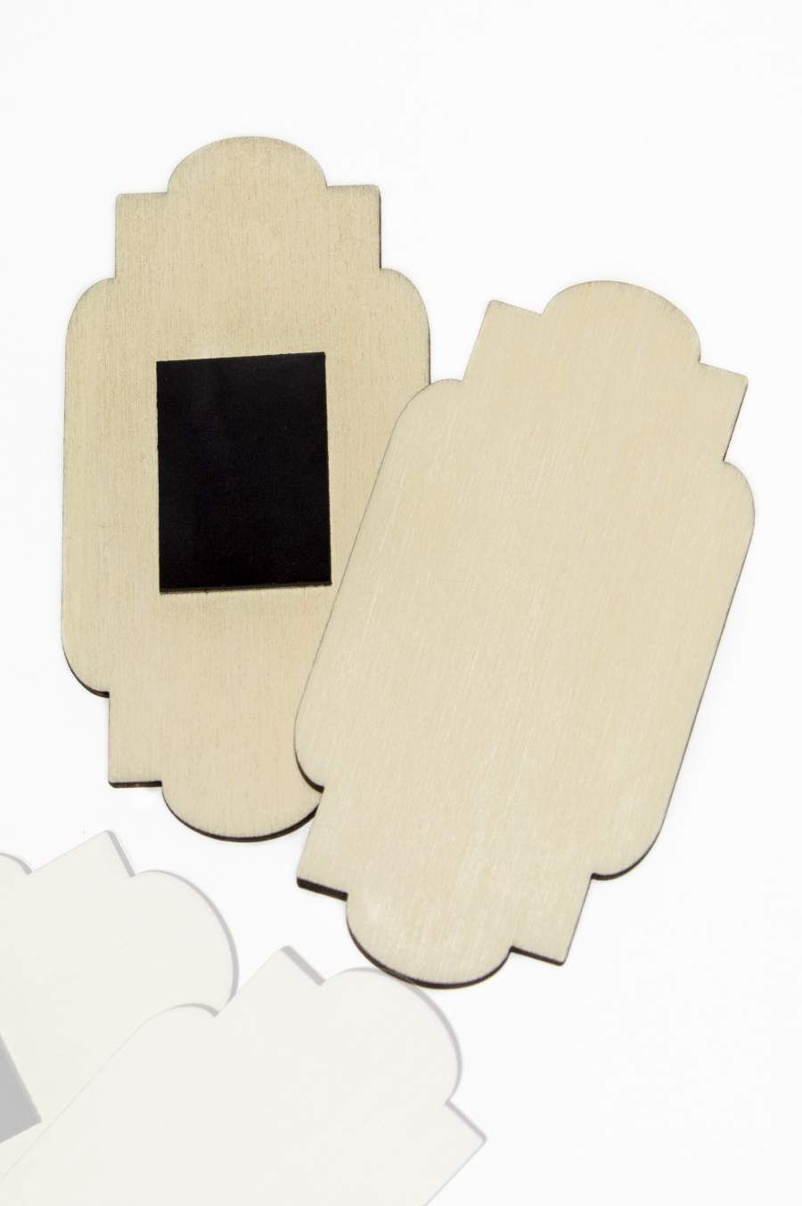 108. Drevená magnetka na chladničku – základný materiál 90x46mm