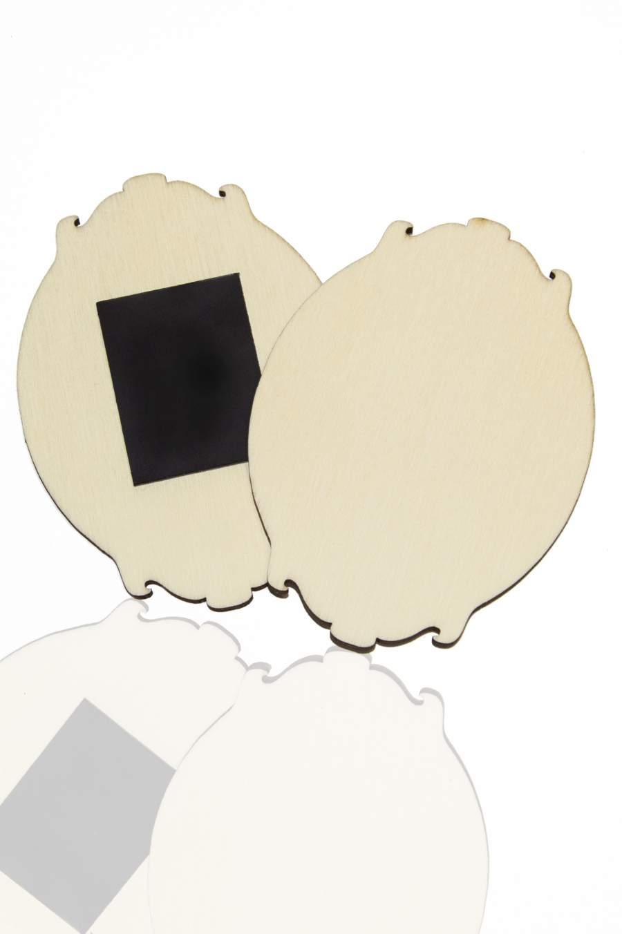 115. Drevená magnetka na chladničku – základný materiál 90x65mm